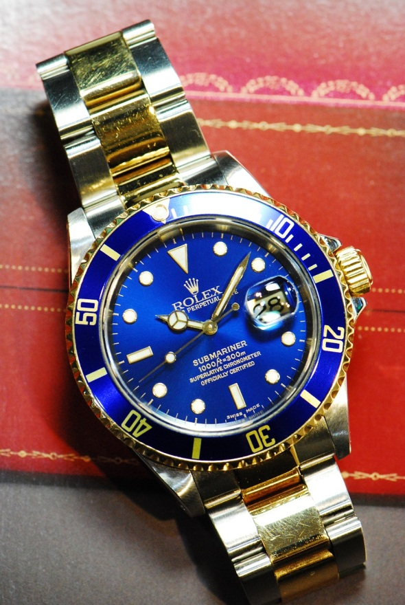 GML47 - Rolex Submariner Blue Ref 16613 - 1